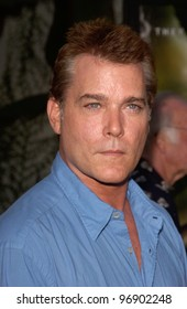 Actor RAY LIOTTA at the world premiere, in Hollywood, of The Bourne Supremacy. July 15, 2004