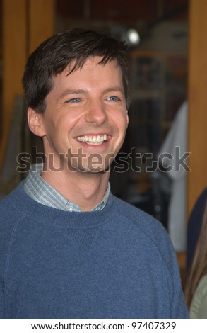 8dd38e32 Actor SEAN HAYES at the world premiere, in Hollywood, of his new movie Dr.  Suess' The Cat in the Hat. November 8, 2003 Paul Smith / Featureflash -  Image