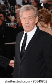 """Actor SIR IAN McKELLEN at the gala screening of """"The Da Vinci Code"""" at the 59th Annual International Film Festival de Cannes. May 17, 2006  Cannes, France.  2006 Paul Smith / Featureflash"""