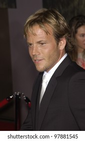 Actor STEPHEN DORFF at the world premiere, in Hollywood, of his new movie Cold Creek Manor. Sept 17, 2003  Paul Smith / Featureflash