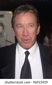 Actor TIM ALLEN at charity event at Santa Monica Airport for The Robb Report's Best of the Best: Los Angeles. August 28, 2004