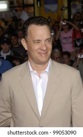 Actor TOM HANKS at the world premiere, in Hollywood, of his new movie The Ladykillers. March 12, 2004