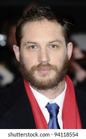 "actor, Tom Hardy arriving for the premiere of ""This Means War"" at the Odeon Kensington. jan 30, 2012"