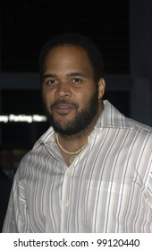Actor VICTOR WILLIAMS at the world premiere of Shade, in Hollywood. April 6, 2004