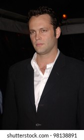 Actor VINCE VAUGHN at the world premiere, in Hollywood, of his new movie Domestic Disturbance.  30OCT2001.   Paul Smith/Featureflash