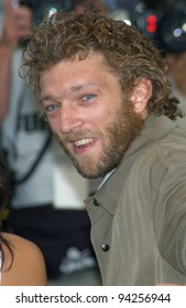 Actor VINCENT CASSEL at the Cannes Film Festival to promote his new movie Irreversible. 24MAY2002.   Paul Smith / Featureflash