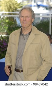 Actor/director CLINT EASTWOOD at photocall in Cannes for his new movie Mystic River, which is screening in competition at the 56th Cannes Film Festival. 23MAY2003