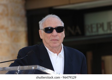 Actor/director MEL BROOKS at Hollywood Walk of Fame ceremony for Producers stars Matthew Broderick and Nathan Lane. January 9, 2006  Los Angeles, CA.  2006 Paul Smith / Featureflash