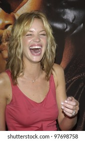 Actres ASHLEY SCOTT at the world premiere, in Los Angeles, of her new movie S.W.A.T. July 30, 2003  Paul Smith / Featureflash
