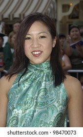 Actres MICHELLE KWAN at the world premiere of Pirates of the Caribbean: The Curse of the Black Pearl, at Disneyland, California. June 28, 2003  Paul Smith / Featureflash