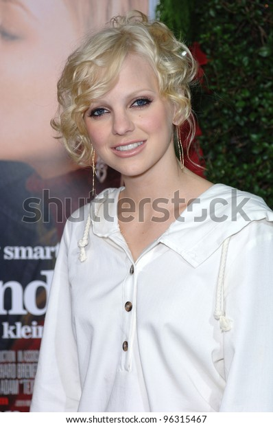 Actress Anna Faris Los Angeles Premiere Stock Photo (Edit