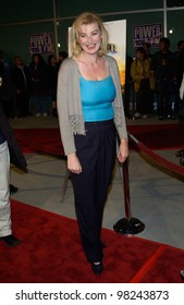 Actress ANNA WILDING at the world premiere, in Los Angeles, of National Lampoon's Van Wilder. 01APR2002.   Paul Smith / Featureflash