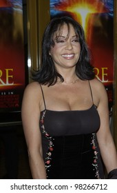 Actress APPOLONIA KOTERO at the world premiere, in Los Angeles, of The Core. March 25, 2003