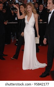 """Actress ARIELLE DOMBASLE at the gala screening for """"Marie Antoinette"""" at the 59th Annual International Film Festival de Cannes. May 24, 2006  Cannes, France.  2006 Paul Smith / Featureflash"""
