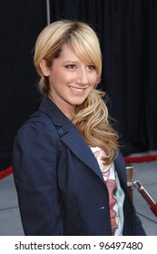 Actress ASHLEY TISDALE at the world premiere, in Hollywood, of the animated movie Curious George. January 28, 2006  Los Angeles, CA  2006 Paul Smith / Featureflash