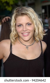 Actress BUSY PHILIPPS at the world premiere of K-19: The Widowmaker. 15JUL2002.   Paul Smith / Featureflash