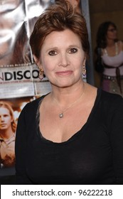 Actress CARRIE FISHER at the Los Angeles premiere of her new movie Undiscovered. August 23, 2005 Los Angeles, CA  2005 Paul Smith / Featureflash