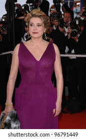 Actress CATHERINE DENEUVE at the gala opening of the 58th Annual Film Festival de Cannes.  May 11, 2005. Cannes, France  2005 Paul Smith / Featureflash
