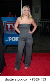 Actress DEBBIE MATENOPOULOS at the 3rd Annual TV Guide Awards in Los Angeles. 2001.    Paul Smith/Featureflash