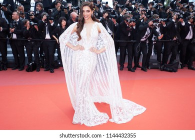 Actress Deepika Padukone attends the screening of 'Sorry Angel' during the 71st annual Cannes Film Festival at Palais des Festivals on May 10, 2018 in Cannes, France.