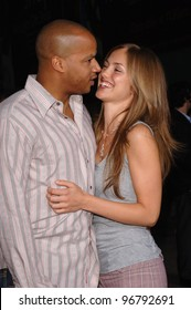 Actress DONALD FAISON & girlfriend at the Los Angeles premiere of King's Ransom. April 21, 2005 Los Angeles, CA.  2005 Paul Smith / Featureflash