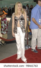 Actress E.G. DAILY & family at the Los Angeles premiere of her new movie Rugrats Go Wild. June 1, 2003
