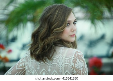Actress Elizabeth Olsen attends the 'Martha Marcy May Marlene' Photo call at the Palais des Festivals during the 64th Cannes Film Festival on May 15, 2011 in Cannes, France.