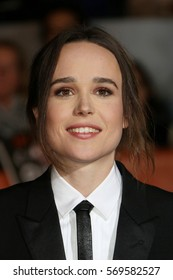 Actress Ellen Page attends the 'Freeheld' premiere during the 2015 Toronto International Film Festival at Roy Thomson Hall on September 13, 2015 in Toronto, Canada.