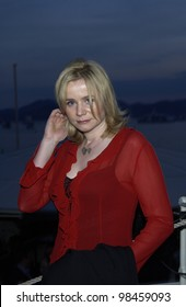 Actress EMILY WATSON at party at the Cannes Film Festival for HBO Films. 17MAY2003