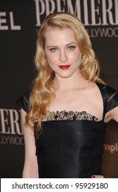Actress EVAN RACHEL WOOD at the 13th Annual Premiere Magazine Women in Hollywood gala at the Beverly Hills Hotel. September 20, 2006  Los Angeles, CA  2006 Paul Smith / Featureflash