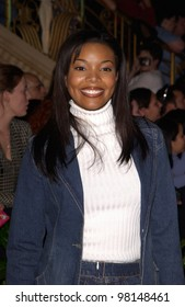 Actress GABRIELLE UNION at the Fox Billboard Bash - the pre-event party for the Billboard Music Awards - at the MGM Grand, Las Vegas. 03DEC2001  Paul Smith/Featureflash