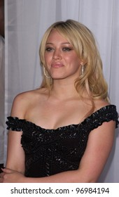 Actress HILARY DUFF at the 16th Annual World Music Awards at the Thomas and Mack Centre, Las Vegas. September15, 2004