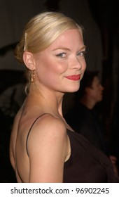 Actress JAIME KING at the world premiere, in Hollywood, of The Bourne Supremacy. July 15, 2004
