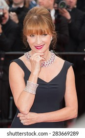 Actress Jane Seymour attends the 'Mad Max: Fury Road' premiere during the 68th annual Cannes Film Festival on May 14, 2015 in Cannes, France.