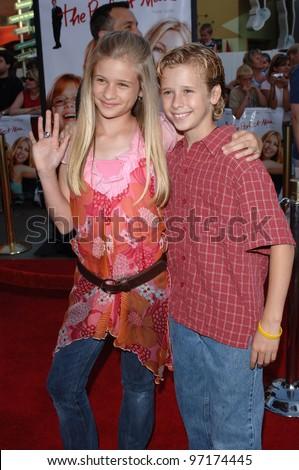 Actress Jenna Boyd Brother Actor Cayden Stock Photo Edit Now