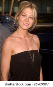 Actress JENNA ELFMAN at the Los Angeles premiere of The Manchurian Candidate. July 22, 2004