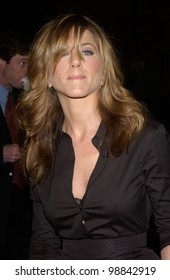 Actress JENNIFER ANISTON at the world premiere, in Hollywood, of her new movie Along Came Polly. January 12, 2004