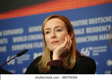 Actress Jennifer Ehle attends the 'A Quiet Passion' press conference during the 66th Berlinale  Film Festival Berlin at Grand Hyatt Hotel on February 14, 2016 in Berlin, Germany.