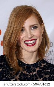 Actress Jessica Chastain attends the 'The Martian' premiere during the 2015 Toronto International Film Festival at Roy Thomson Hall on September 11, 2015 in Toronto, Canada.
