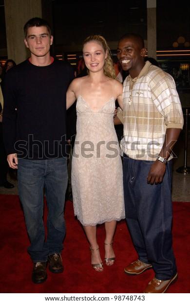 Actress Julia Stiles Actor Josh Hartnett Stock Photo Edit