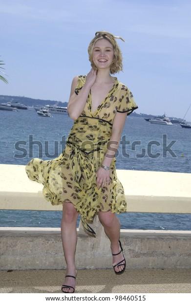 Actress Julia Stiles Cannes Film Festival Stock Photo Edit