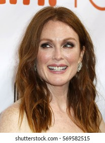 Actress Julianne Moore attends the 'Freeheld' premiere during the 2015 Toronto International Film Festival at Roy Thomson Hall on September 13, 2015 in Toronto, Canada.
