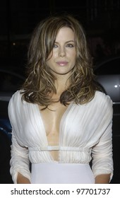 Actress KATE BECKINSALE at the Los Angeles premiere of her new movie Underworld. Sept 15, 2003  Paul Smith / Featureflash