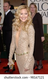 Actress KATE HUDSON at the 59th Annual Golden Globe Awards in Beverly Hills. 20JAN2002  Paul Smith/Featureflash