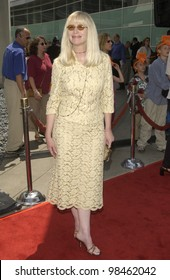 Actress KATH SOUCIE at the Los Angeles premiere of her new movie Rugrats Go Wild. June 1, 2003