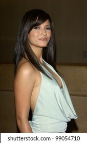 Actress KELLY HU at the 18th Annual Genesis Awards at the Beverly Hilton Hotel, Beverly Hills, CA. March 20, 2004