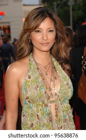 "Actress KELLY HU at the world premiere, in Los Angeles, of ""Miami Vice."" July 20, 2006  Los Angeles, CA  2006 Paul Smith / Featureflash"