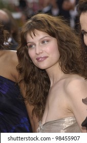 Actress LAETITIA CASTA at the screening of The Matrix Reloaded at the Cannes Film Festival. 15MAY2003