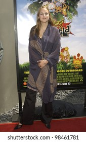 Actress LEELEE SOBIESKI at the Los Angeles premiere of Rugrats Go Wild. June 1, 2003
