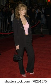 Actress LINDA BLAIR at the Hollywood premiere of Bringing Down The House. 02MAR2003.   Paul Smith / Featureflash